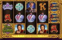 Una imagen del juego de tragaperras gratis Queen Isabella