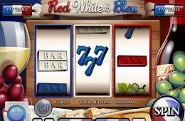 Juego de casino gratis Red, White and Bleu