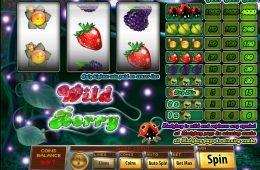 Juega en la máquina tragaperras Wild Berry 3-reel