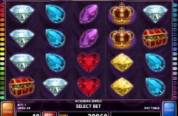Divertido juego gratis de casino 40 Shining Jewels