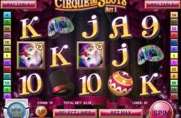 Máquina tragaperras online Cirque du Slots