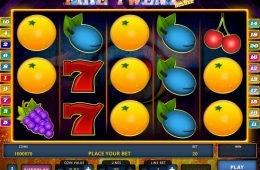 Una imagen del juego de tragamonedas online Fire Twenty Deluxe
