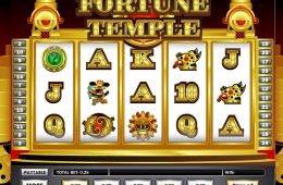 Máquina tragaperras online gratis Fortune Temple