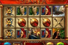 Máquina tragaperras sin depósito Fotunes of Sparta