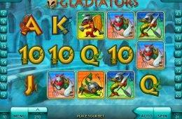 Juego de casino online gratuito Gladiators