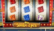 Máquina tragaperras online gratuita Snake Eyes