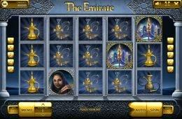 Gira la máquina tragaperras online The Emirate