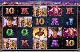 Una imagen del juego de tragamonedas Wild Rodeo