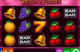 Divertida tragaperras online gratuita Wild Rubies
