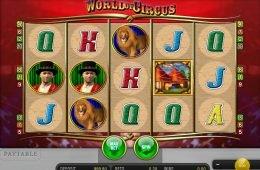 Gira el juego de casino World of Circus