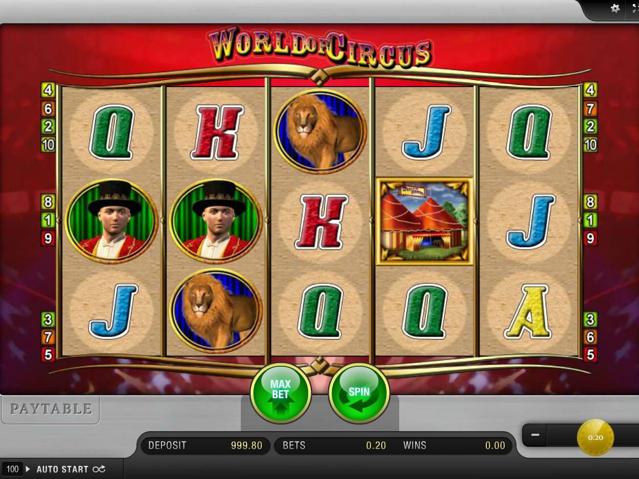 Circus™ Juego de tragamonedas para jugar gratis en Casinos en línea de