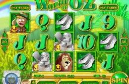 Juega en la tragaperras gratis de casino World of Oz