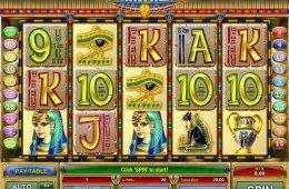 Juega gratis en la tragamonedas de casino Cleopatra Treasure