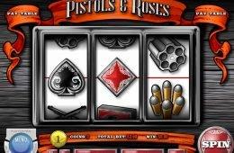 Gira gratis el juego de casino Pistols and Roses