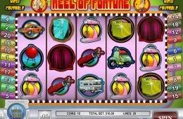 Juega en la tragaperras de casino Reel of Fortune