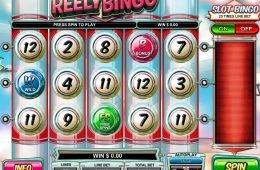 Una imagen de la máquina tragamonedas de casino Reely Bingo