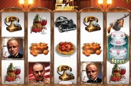 Tragaperras online The Godfather de Gamesys