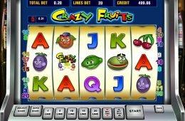 Prueba el juego de casino online gratis Crazy Fruits