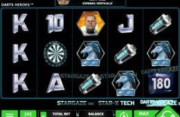 Juega en la tragamonedas de casino Darts Heroes