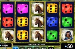 Máquina tragamonedas de casino sin suscripción Dice of Magic