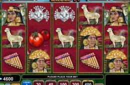 Juega gratis en la tragaperras online Inca Gold II