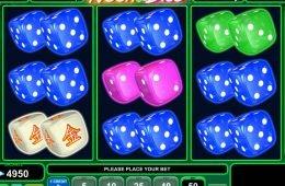 Juego de tragamonedas de casino gratis Neon Dice