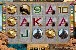 Imagen del juego de tragamonedas Clash of the Titans