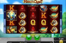 Juego online no descargable Hero's Quest