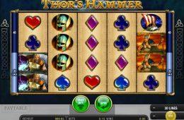 Haz girar la tragaperras online gratuita Thor's Hammer