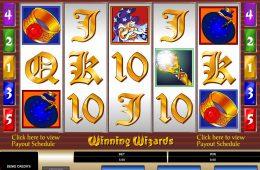 Imagen de la tragamonedas de casino Winning Wizards