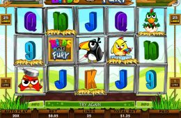 Juego online gratis Birds of Fury