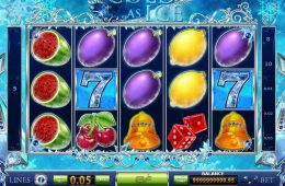 Máquina tragaperras online de casino Cold as Ice