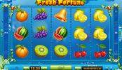 Imagen del divertido juego de tragamonedas Fresh Fortune