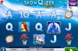 Haz girar la máquina tragaperras Snow Queen Riches