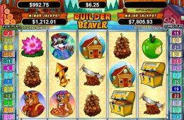 Juego de tragaperras de casino sin suscripción Builder Beaver