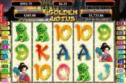 Juego de tragaperras online gratis Golden Lotus de RTG