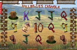 Máquina tragaperras online gratis Hillbillies Cashola