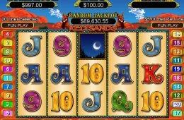 Imagen del juego de tragamonedas Red Sands