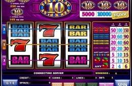Tragamonedas de casino 10x Play