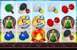 Una imagen de la tragamonedas de casino 2016 Gladiators