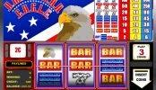 Una imagen de la tragaperras de casino American Eagle