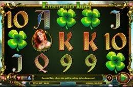 Una imagen de la tragamonedas en línea Emerald Isle