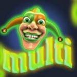 Joker symbol of casino free slot game Crazy Fruits