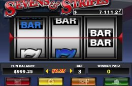 Tragaperras gratis de casino Sevens and Stripes