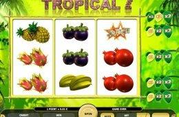 Máquina tragamonedas Tropical 7