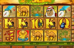 A Desert Treasure ingyenes online nyerőgép képe
