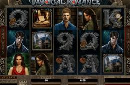 Az Immortal Romance ingyenes online nyerőgép képe