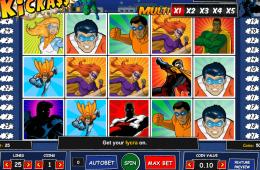 A Kickass ingyenes online nyerőgép képe