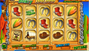 A Wild West Bounty ingyenes online nyerőgép képe