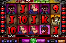 A Cartoon Capers ingyenes online nyerőgép képe